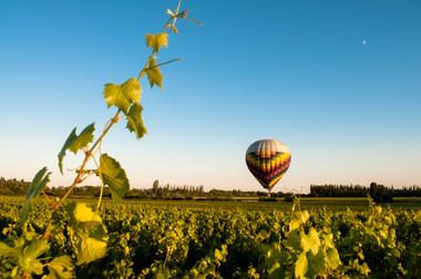 Vol montgolfier en côte de Beaune.