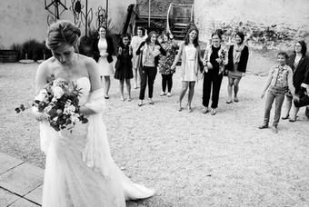 Avant l'envol du bouquet ...pour une future mariée
