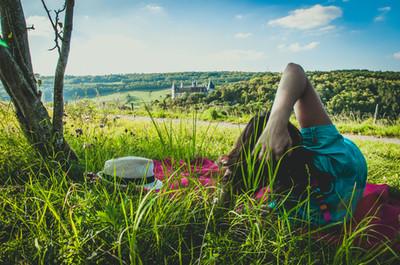 Se détendre en côte d'or - La Rochepot.