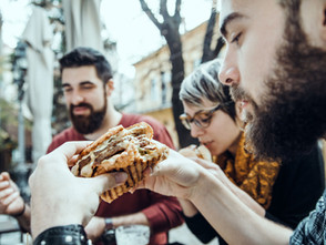goat cheese, portobello mushrooms and Starbucks. Let's talk Lent.