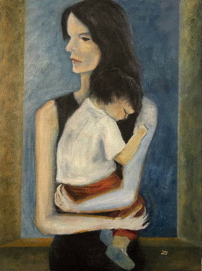 Sara and Diego portrait