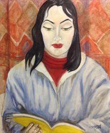 'Barbara' - Oil on canvas,50x60 cm