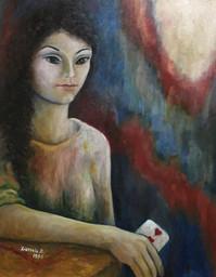'Daria' - oil on canvas,40x50 cm