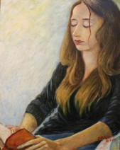 'Linda' - Oil on wood, 40x50 cm
