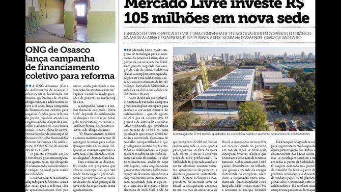 Campanha da Amamos repercute em jornais da cidade