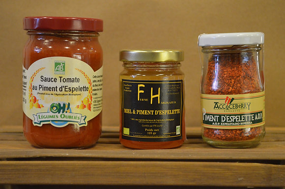 Sauce tomate / Piment d'espelette