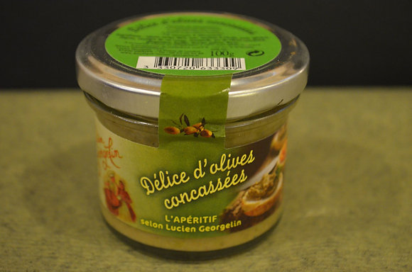Delice d'olives concassees