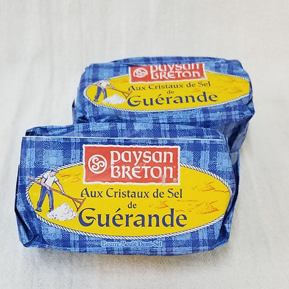 FRENCH BUTTER WITH GUÉRANDE SALT