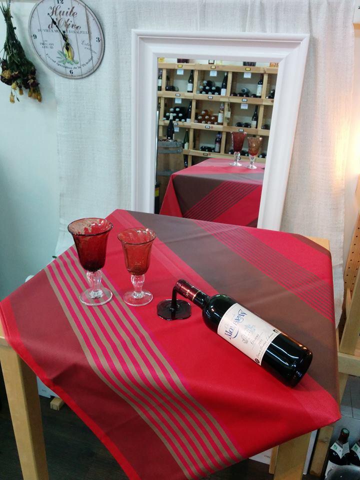 tablecloth toile enduite