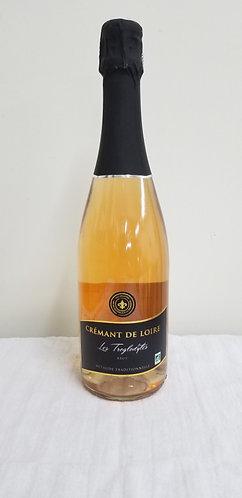 Crémant de Loire rosé Les Troglodytes