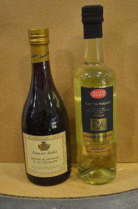 Vinaigre de vin rouge / Vin blanc