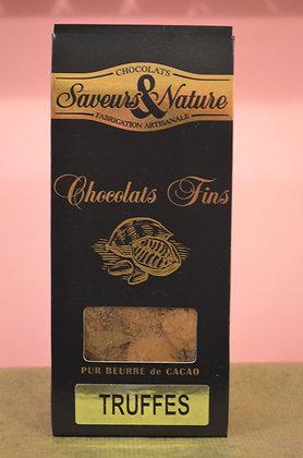 Chocolats fins truffes