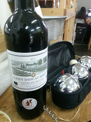 BORDEAUX Lion des Aubrots red