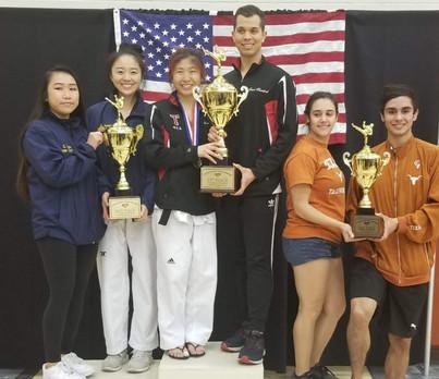 NCTA Championship (Black belt) Division Winners