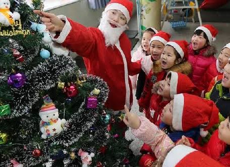 ¿Cómo celebran la Navidad en China, Japón y Corea?