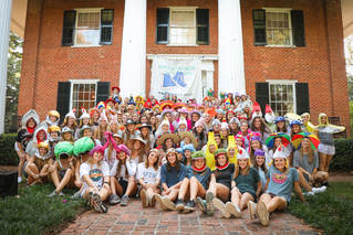 Kappa Alpha Theta Big/Little Reveal