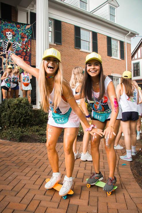 Kappa Kappa Gamma Bid Day