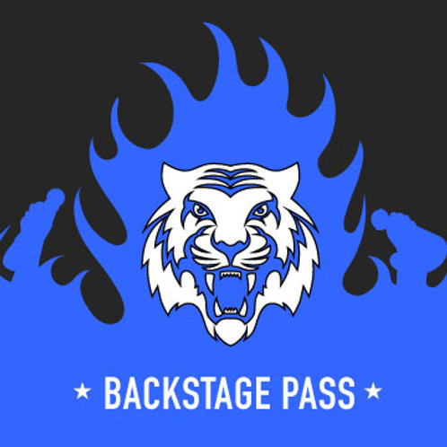 Backstage pass sponsorship