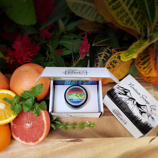 Noctua Soap Co Rejuvenation Night Cream Basil Essential Oil Grapfruit Essential Oil Tangerine Essential Oil