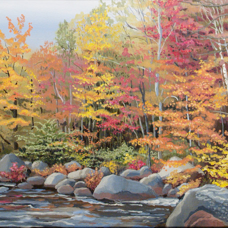 Fall in the Adirondacks