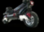 Trottinette électrique surpuissante SPEEDTROTT RX1000 Roue avant