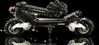 Trottinette électrique RX2000 pliée