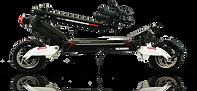 La trottinette électrique SPEEDTROTT RX2000 pliée