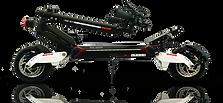 Trottinette électrique SPEEDTROTT RX2000 pliée
