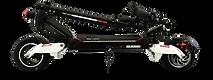 Trottinette électrique SPEEDTROTT RX1000 pliée