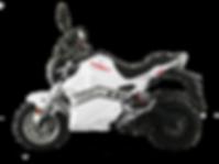 MOTO-ELECTRIQUE-BLANCHE