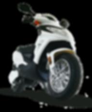 scooter électrique youbee motors RSX50 blanc