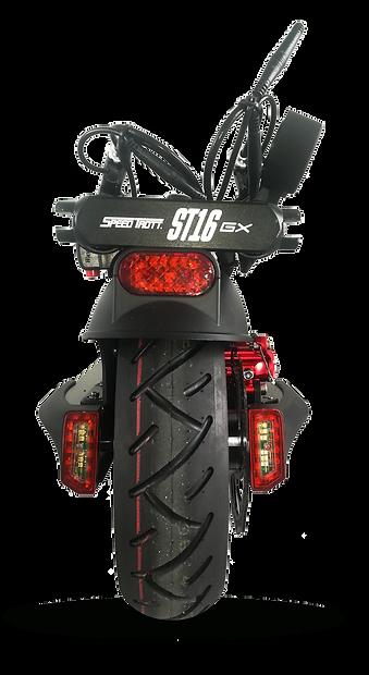 trottinette électrique vue arrière SPEEDTROTT ST16GX