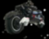 Trottinette électrique surpuissante SPEEDTROTT RX1000 Roue arrière