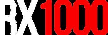 Logo modèle RX1000 de trottinette électrique SPEEDTROTT
