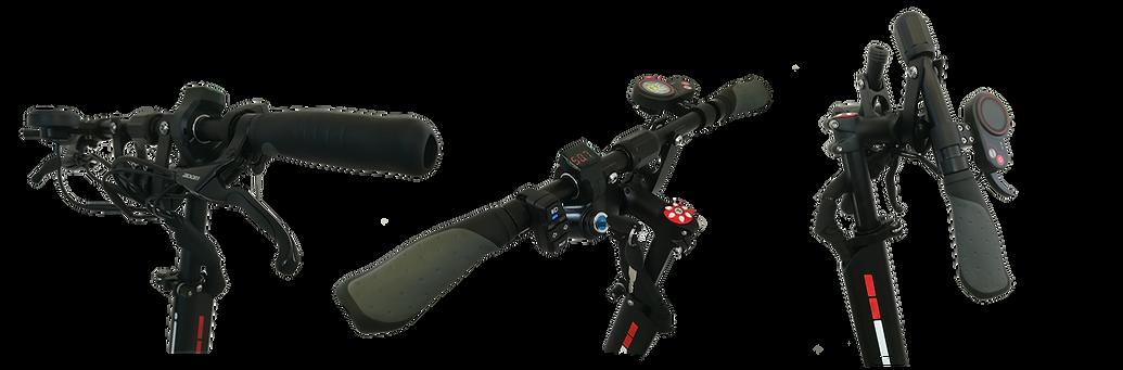 Le guidon pliable de la marque SPEEDTROTT modèle RX1000