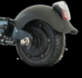 Roue arrière trottinette électrique étanche SPEEDTROTT GX14