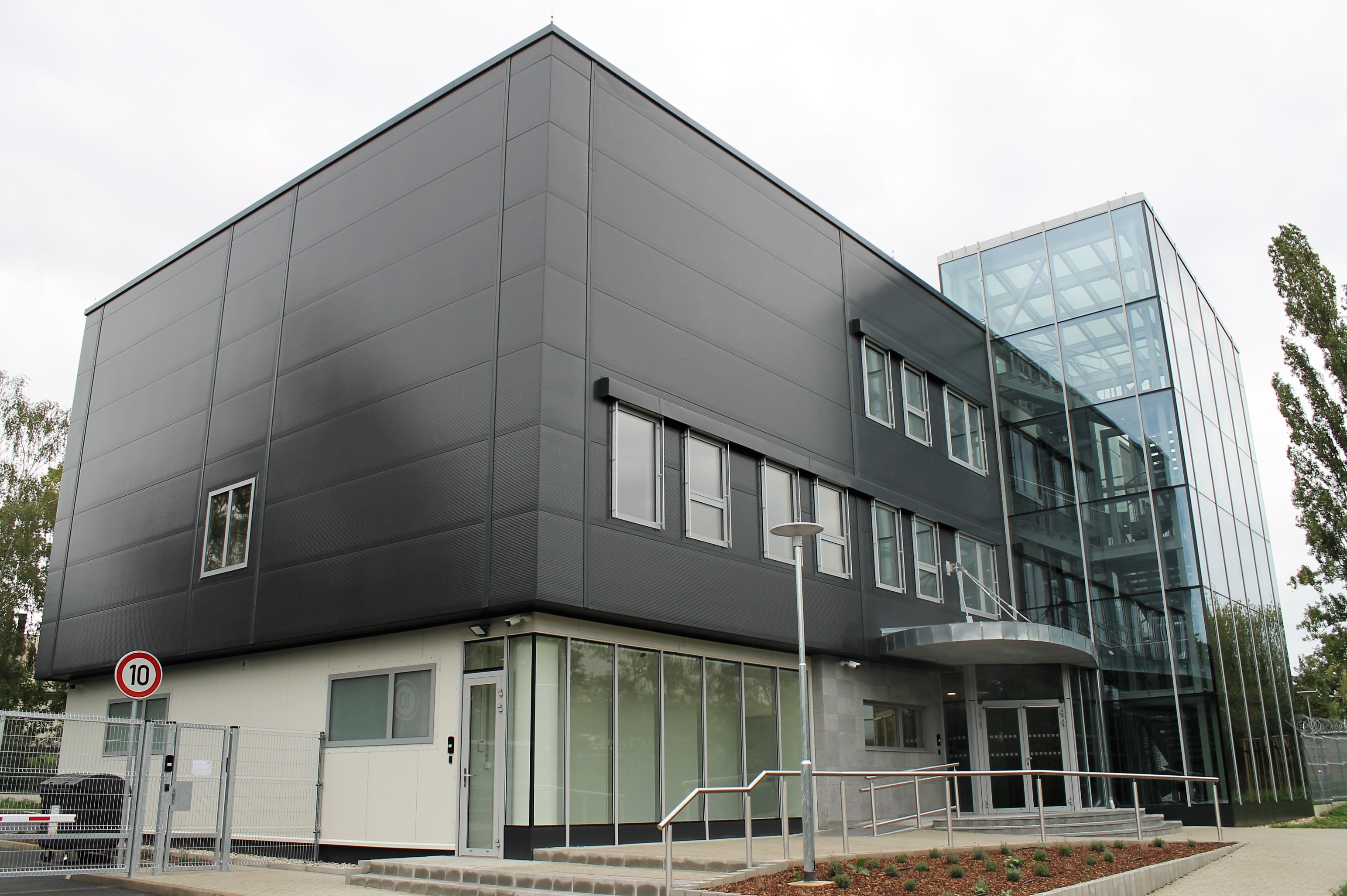 Exteriér budovy