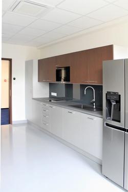 Kuchyňka v reprezentativní sekci