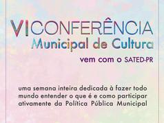 Fique por dentro da VI Conferência Municipal de Cultura de Curitiba