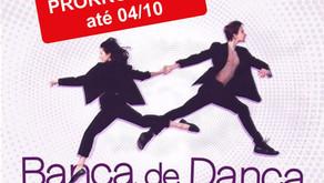 Inscrições prorrogadas para a Banca de Dança