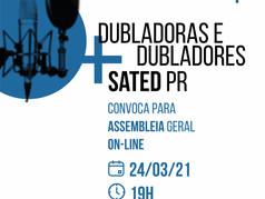 Assembleia Geral Ordinária - Dublagem