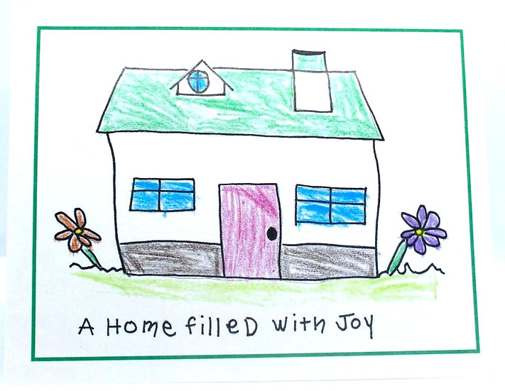 Home Filled with Joy Cards (Package of 8)