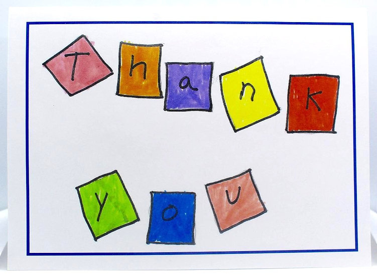 Thank You Cards (Package of 8)