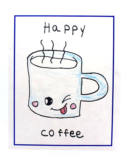 Happy Coffee Cards (Package of 8)