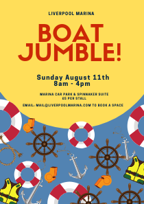 Boat Jumble - Save the Date!
