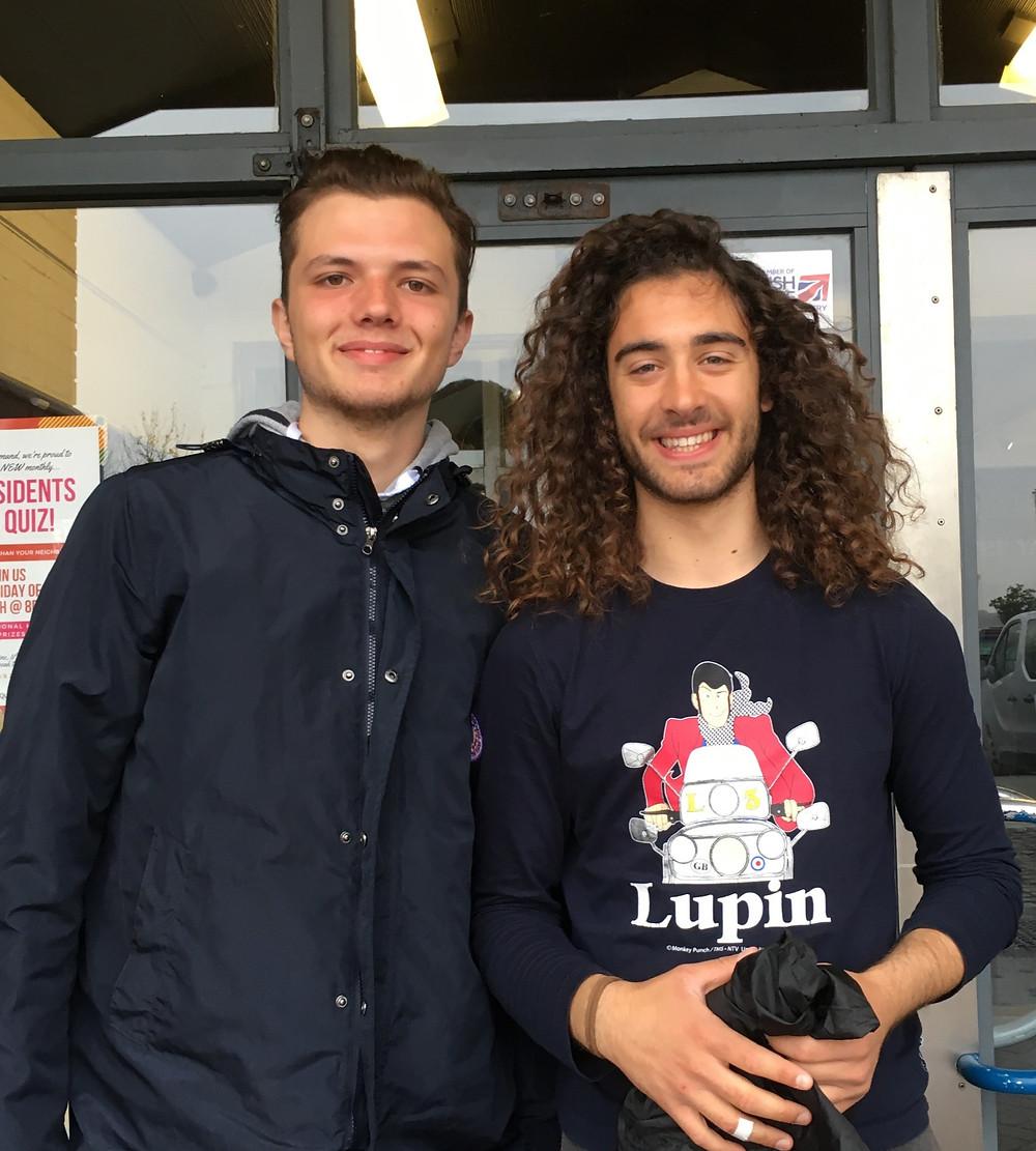 our Italian interns
