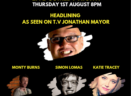 DON'T FORGET ABOUT OUR MONTHLY COMEDY NIGHT