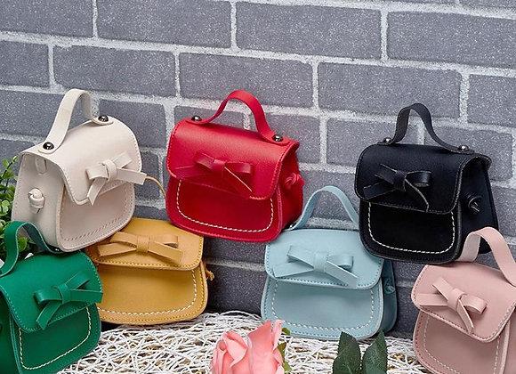 Pink Leather Side Bag