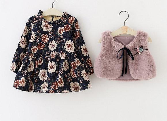 Two Piece floral dress