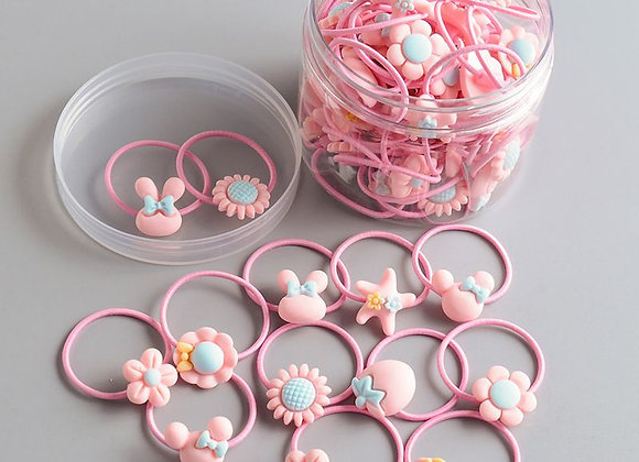 Baby Hair Bobbles (Pink)